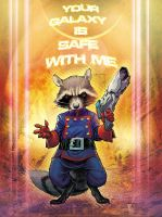 Rocket Raccoon by StephaneRoux