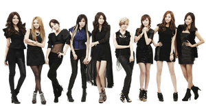 SNSD ( PNG ) by ShinMing