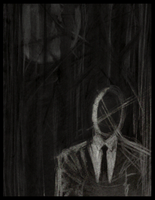 Charcoal: Dark woods by Cageyshick05