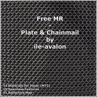Free MR Plate and Chainmail by eart3d