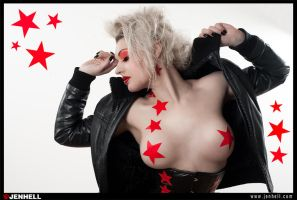Red Punk II by JenHell66