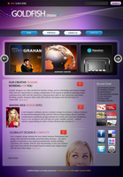 Web Design Template by goldfish2008