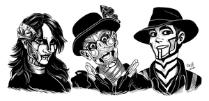 Steam Powered Giraffe by RPGirl