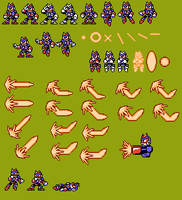 Laser Man dissonance sprites by Blackhook