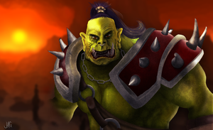 World of Warcraft ORC by JaysusAlmighty