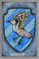 Ravenclaw Crest by SurlyQueen