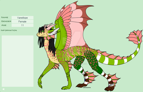 Vanellope dragon by the-fullmetal18