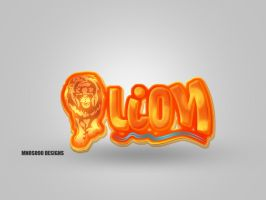 lion logo by mnoso90
