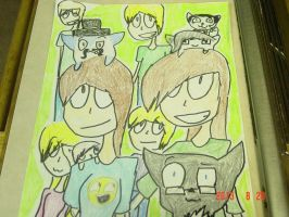 Artists and friends of dA! by XMordecaiRigbyX