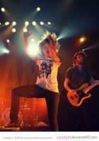 Hayley and Jeremy Paramore by ciscotjuh