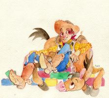 toy story by faQy
