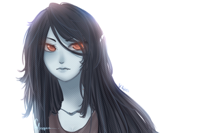Marceline - anime style by Vika01