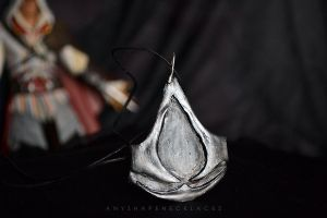 Assassin's Creed necklace by AnyShapeNecklaces