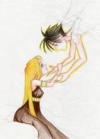 Eros and Psyche by shzaam08