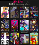 2015 Art Review by KPenDragon