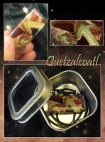 Glass Pendant - Quetzalcoatl by neondragon