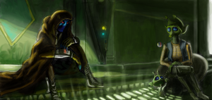 finished Cad Bane art. by Raikoh-illust