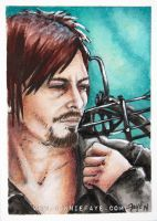 Daryl Dixon PSC/ACEO by ConnieFaye