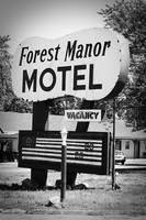 RT 66 Sign Series - Forest Manor Motel by JJFrancais