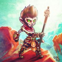 Wukong Chibi by happip