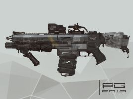 NeedleGun concept by ProxyGreen
