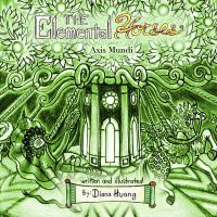 Axis Mundi green book cover by Diana-Huang