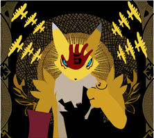Five finger death renamon by RenamonsRevenge