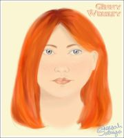 Portrait of Ginny by aneesah