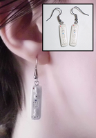 Wii Remote Earrings by UniqueTreats
