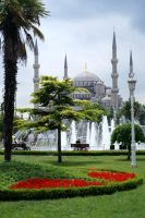 The Blue Mosque by Fuyou-hime