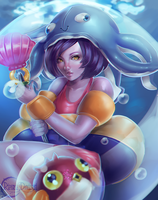 Pool Party Lulu by RinRinDaishi
