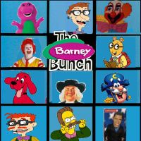 The Barney Bunch by mrmenworld2010