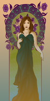 Bridesmaid Courtney by hatchback-girl