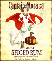 Captain Murasa's Spiced Rum by mikoneyoru