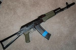AKS-74 by Minion-Kurchek