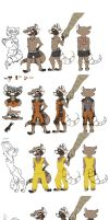 Rocket Raccoon Reference by Trying2FanFiction