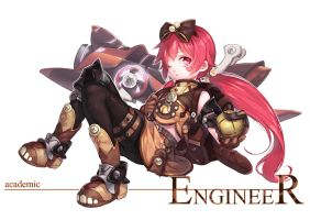 Engineer loli by Ragnarok026