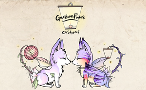 GardenFoxes cheap custom auction: CLOSED by StarDust-Adoptables