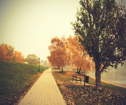 fall is the best. all is disappearing by sloeb
