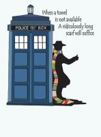 Doctor Who Hitchhiking by dmbarnham