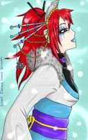 Silver Flame Snow Dream by VisualKei666