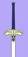 Excalibur Vector by DeadlyObsession