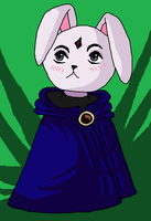 Bunny Raven colored by Songa18