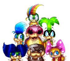 Koopalings by PlagueDogs123