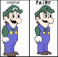 Weegee : My paint version. by superpivot1231
