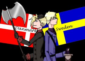 APH-Danmark and Sweden by Loveylove