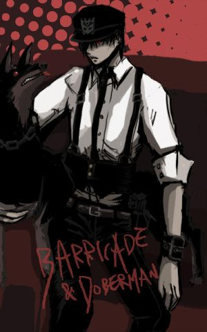 Fanservice  para chicas :3 TF_humanized___Barricade_by_yamcat