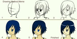 Drawing Method Meme -Finished- by Jamilin