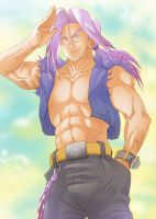 MiraiTrunksClub 1st Prize Color Trunks by nenee