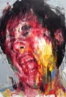 untitled oil on canvas 162.2 x 112 cm 2014 by ShinKwangHo
